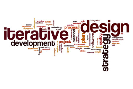 iterative: Iterative design word cloud