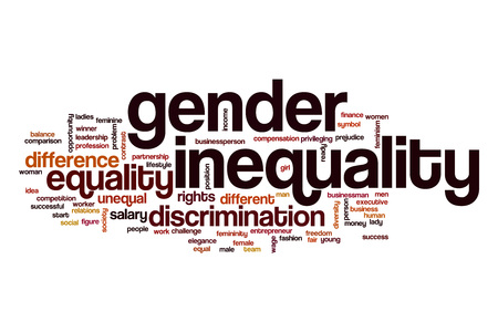 inequality: Gender inequality word cloud