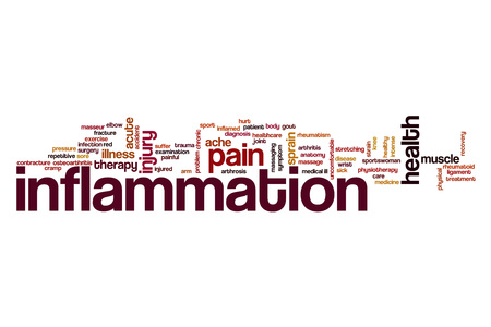 Inflammation word cloud concept Stock Photo