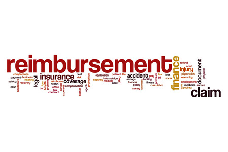 reimbursement: Reimbursement word cloud concept
