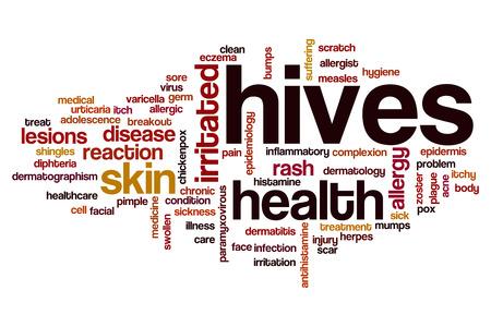 breakout: Hives word cloud concept