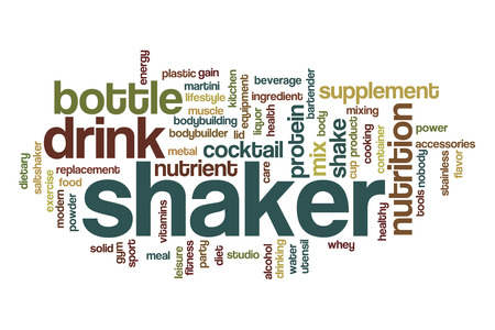 shaker: Shaker word cloud concept