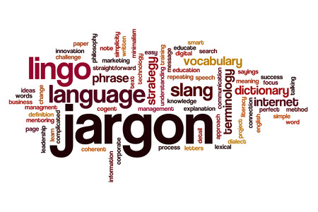 Jargon word cloud concept Banco de Imagens - 61760437