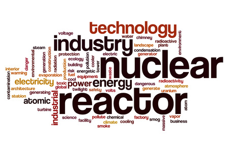 reactor: Nuclear reactor word cloud concept