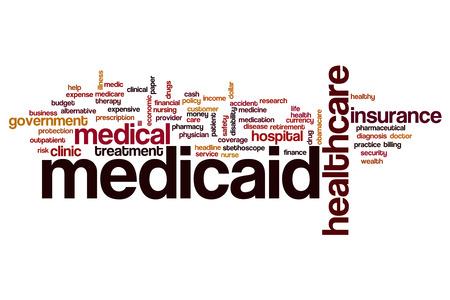 medicaid: Medicaid word cloud concept