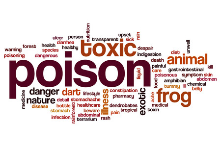 dendrobates: Poison word cloud concept