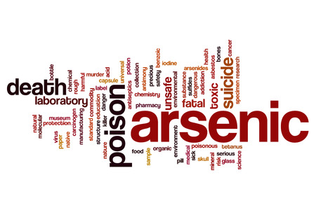 benzoic: Arsenic word cloud concept