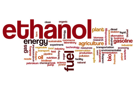 ethanol: Ethanol word cloud concept Stock Photo