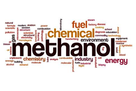methanol: Methanol word cloud concept