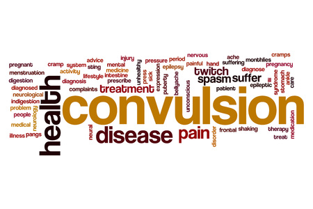 convulsion: Convulsion word cloud concept