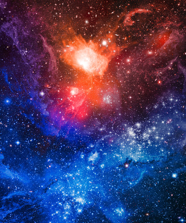 Galaxy stars nebula. Abstract space background.