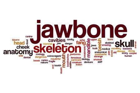 jawbone: Jawbone word cloud concept Stock Photo
