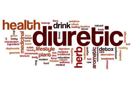 diuretic: Diuretic word cloud concept Stock Photo