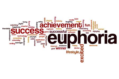euphoria: Euphoria word cloud concept