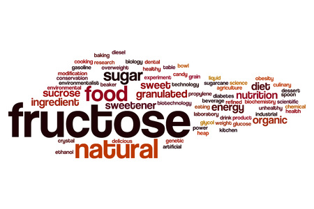 fructose: Fructose word cloud concept
