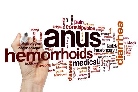 anus: Anus word cloud concept