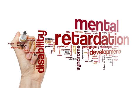 retardation: Mental retardation word cloud