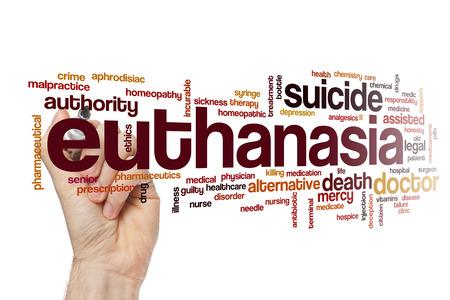 incurable: Euthanasia word cloud