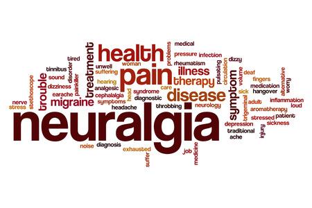 neuralgia: Neuralgia word cloud concept Stock Photo