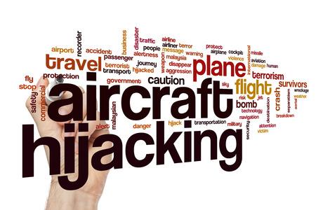 hijack: Aircraft hijacking word cloud