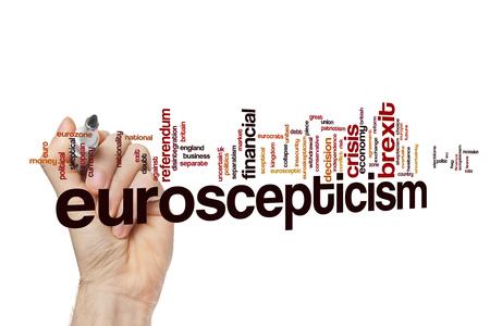 Euroscepticism word cloud