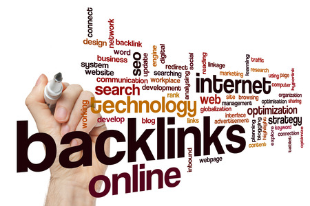 backlinks: Backlinks word cloud