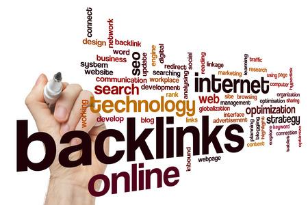 backlinks: Backlinks word cloud