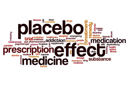 placebo: Placebo effect word cloud concept