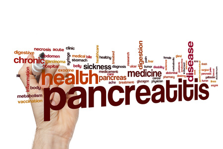 Pancreatitis word cloud