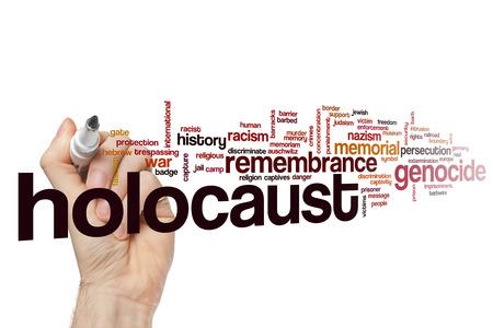 holocaust: Holocaust word cloud concept