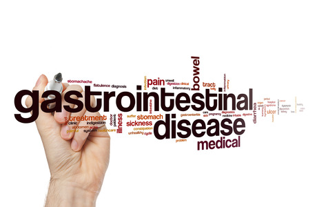 Gastrointestinal disease word cloud concept