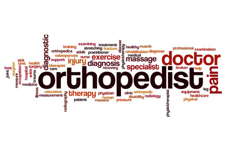 orthopedist: Orthopedist word cloud concept