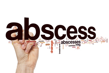pus: Abscess word cloud
