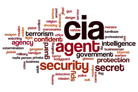 CIA: CIA word cloud concept