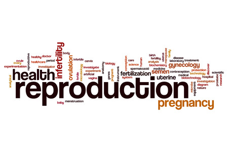reproduction: Reproduction word cloud concept