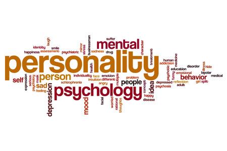 personalidad: Personalidad concepto de nube de palabras
