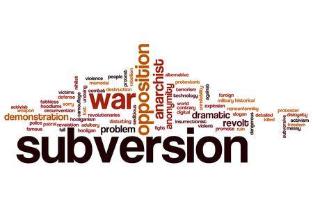 subversion: Subversion word cloud concept