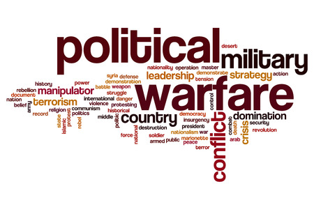 syria peace: Political warfare word cloud concept