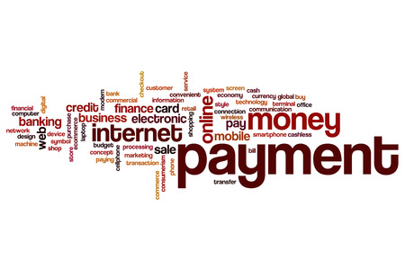 technology transaction: Payment word cloud concept