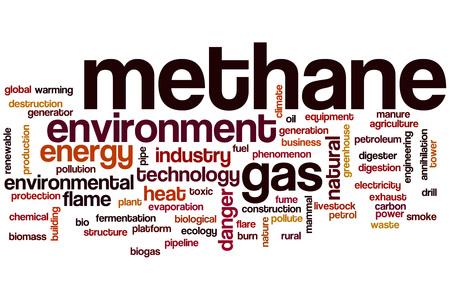 methane: Methane word cloud concept