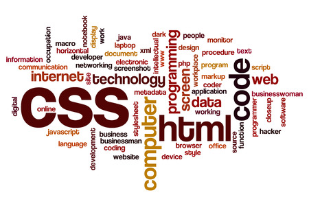 CSS word cloud concept