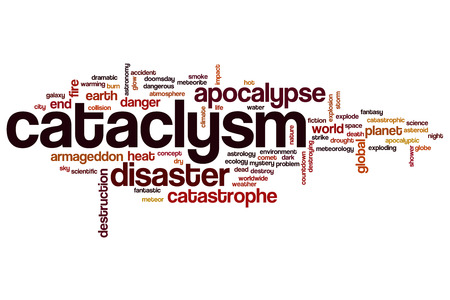 cataclysm: Cataclysm word cloud concept Stock Photo
