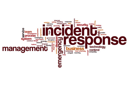 Incident Response concetto della nube di parola