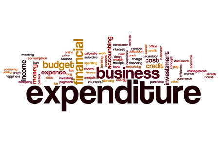 expenditure: Expenditure word cloud concept