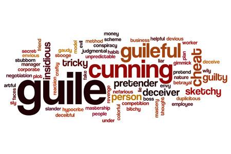Guile word cloud concept