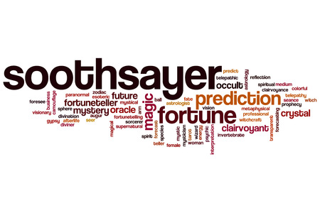 diviner: Soothsayer word cloud concept