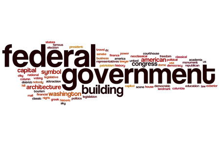 federal government: Federal government word cloud concept