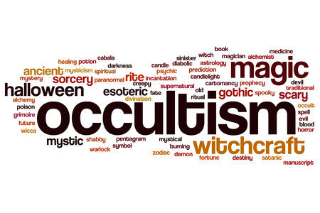 occultism: Occultism word cloud concept
