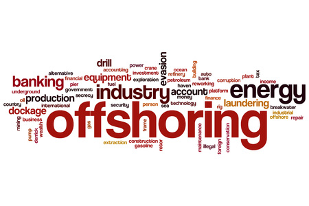 offshoring: Offshoring word cloud concept