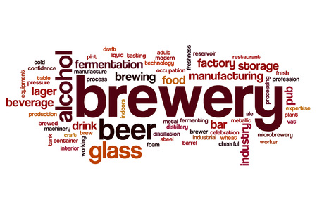 brewery: Brewery word cloud concept
